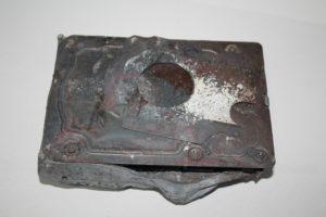 Жесткий диск после пожара